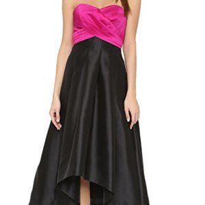 Shoshanna Midnight Hi-Lo Dress
